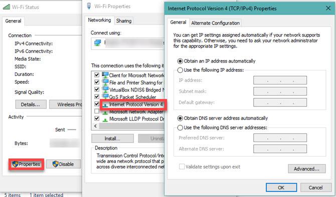 Windows-IP-Settings