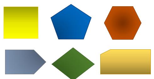 طراحی اشکال هندسی در HTML5