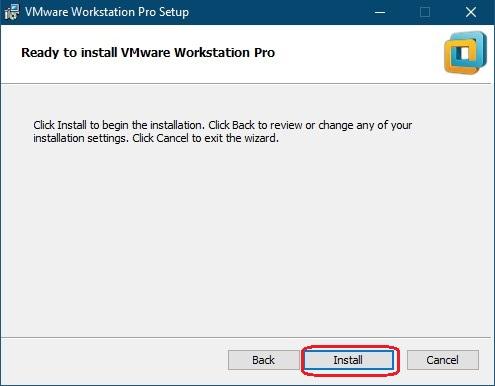 نصب vmware workstation