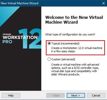 تنظیمات vmware workstation